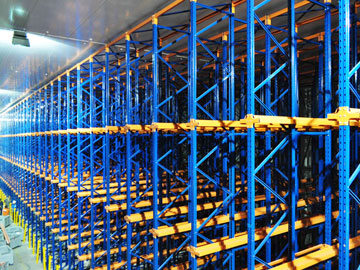 Drive-in pallet racking systems