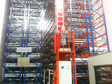 ASRS automatic pallet racking system